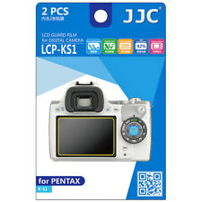 2x Film LCD Screen Display H3 Hard Protection for Camera Pentax K-S1