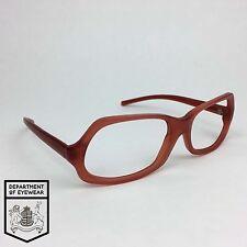 PRADA eyeglass RED frame RECTANGLE Authentic. MOD:SPR07A
