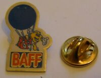 HOT AIR BALLOON BAFF vintage Pin Badge