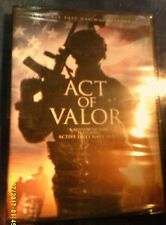 DVD - ACT OF VALOR Only Easy Day was Yesterday Featuring Active Navy Seals NEW