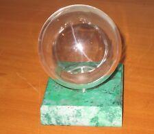 Display Case :  Cricket Ball - single cricket ball holder/display case - green