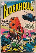 Blackhawk #109, DC Comics 1957, Dillin/Cuidera,  VG-