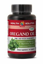 Potassium Hydroxide - Oregano Oil 1500mg - Help Kill Candida Supplement 1B