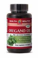Potassium Hydroxide - Oregano Oil 1500mg - Help Kill Candida Supplement 1B