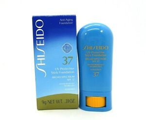 Shiseido UV Protective Stick Foundation SPF 37 ~ Orchre ~ 9 g / .31 oz / BNI