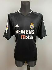 REAL MADRID 2004/2005 AWAY FOOTBALL SOCCER JERSEY SHIRT ADIDAS ADULT SIZE XL