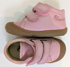 Naturino Baby Infant Girl Pink Leather Cocoon VI Shoe size 20 / 4.5