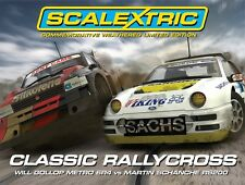 Scalextric 1/32 Classic Rallycross Metro 6R4 & Ford RS200 Set C3267A SCAC3267A