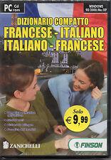 DIZIONARIO COMPATTO: FRANCESE - ITALIANO /ITALIANO-FRANCESE FINSON PC CD ROM