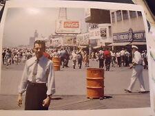 1960 Coca-Cola Coney Island Arcade Brooklyn NYC Photo