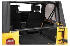 1987-2006 Jeep Wrangler YJ TJ LJ Soft Top Rear Window Bar with Brackets Kit