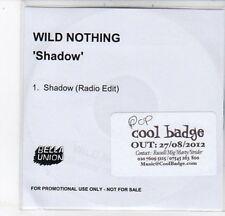 (DC721) Wild Nothing, Shadow - 2012 DJ CD