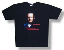 """SILENCE OF THE LAMBS - """"LIVER"""" HANNIBAL LECTER T-SHIRT - NEW ADULT X-LARGE XL"""