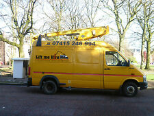 CHERRY PICKER HIRE WITH OPERATOR  LIVERPOOL MERSEYSIDE AND NORTH WEST