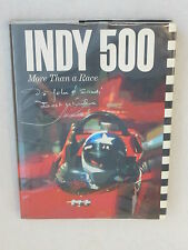 Tom Carnegie INDY 500 MORE THAN A RACE Signed by Mario Andretti c.1976