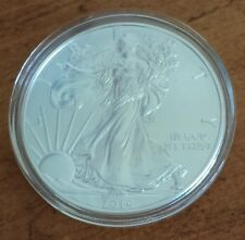 2014 American Silver Eagle BU Coin 1 Troy Ounce 999 w/ Air Tite