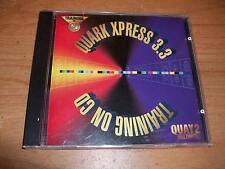 (2) Photoshop 3 & Quark Xpress 3.3 Software Programs Training On CDs For Mac