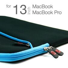 13.3 inch Laptop Notebook Sleeve Case Blue Bag for Apple MacBook MB Pro 13-inch