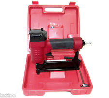 """Air Stapler Gun 18 Gauges Brad 5/8"""" to 1"""" Pneumatic Upholstery Framing Stapler"""