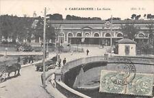 CPA 11 CARCASSONNE LA GARE
