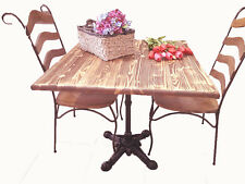 Tavolo Tavoli Tavolino Tavolini Bistrot In Legno 2 Sedie Da Cucina Caffe Letto A