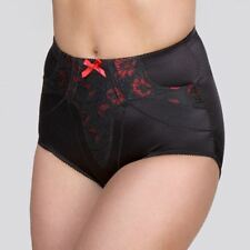 Your Secret High Waist Pants in Black & Red
