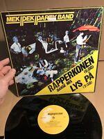 Mek Pek Party Band Lys Pa Rapperkonen Genlyd Album Record Vinyl