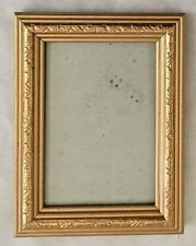 "Goldtone Wood 4 3/4X6 1/4"" Frame - Holds 3.5X5"" Photo"