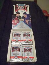 1991-92 Upper Deck High #`s English Hockey Sealed Pack