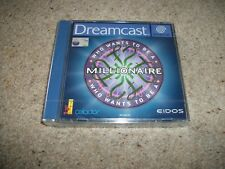 WHO WANTS TO BE A MILLIONAIRE  - Sega Dreamcast (PAL)  Rare New & Sealed