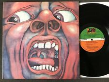 KING CRIMSON IN THE COURT OF THE CRIMSON KING 1969 LP RECORD VG VINYL SD 8245