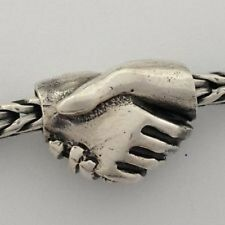 Authentic (Genuine) Sterling Silver TROLLBEADS FRIENDSHIP - New