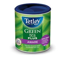 Tetley Green Tea Plus Aware 6 Pack 120 Total Tea Bags