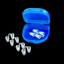 6pc Medium Anti Ronquido Nariz Clip Ventilación Respiración martillo perforador para techo apnea ayuda nasal dilatadores