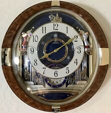 Seiko Melodies In Motion Broadway Animated Wall Clock Model No. Qxm128Brh