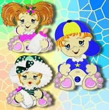 ADORABLE BUFFY and BEN 11 MACHINE EMBROIDERY DESIGNS CD 3 SIZES