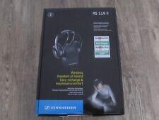 Sennheiser RS 119 II cabeza perchas inalámbrico de auriculares negro