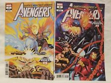 Avengers #7 & #8 Cosmic Ghost Rider vs Variants (2018 Marvel) Comic Books