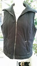 Ladies Dorothy Perkins Black Gilet Jacket Sleeveless Coat 14 uk 42 euro VGC