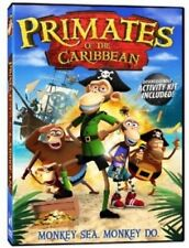 Primates of the Caribbean: Monkey See Monkey Do (DVD, 2013) New