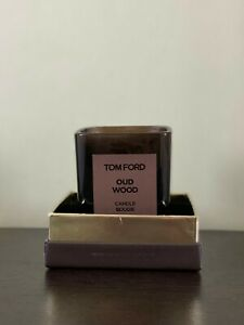 Tom Ford Oud Wood Candle Bougie 2.25 IN