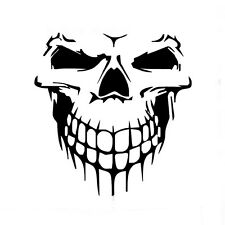 53x59cm Car SUV Black Fashion Vinyl Skull Skeleton Decal Sticker Easy to install