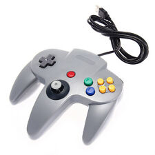 Classic Bluetooth Gaming Controller Gamepad Controllers for Nintendo 64 N64 Gray
