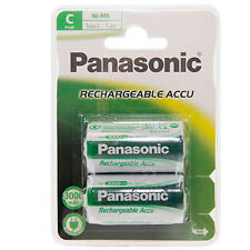 4x AKKUS BABY-C * PANASONIC * rechargeable 2800 mAh - LR14 - 1,2 Volt