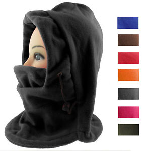 Damen Herren Schalmütze Wind-und Staubschutzmaske Skimaske Sturmhaube Fleece