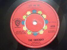 "THE CASCADES let me be/rhythm of the rain RARE SINGLE 7"" 45 1962 INDIA INDIAN EX"