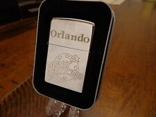 ORLANDO FLORIDA PLANET HOLLYWOOD ZIPPO LIGHTER MINT IN BOX 2003
