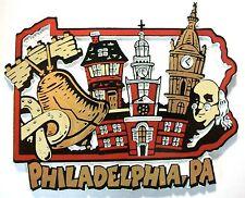 Philadelphia Pennsylvania Montage Fridge Magnet