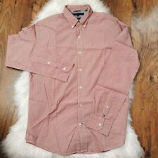 Tommy Hilfiger Vintage Fit Men's Long Sleeve Shirt Size Medium Great Condition