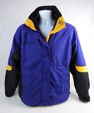 Columbia Bugaboo Women's Large Purple Orange Winter Jacket / Coat Zip out Liner
